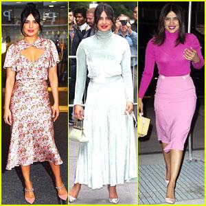 Priyanka Chopra Rocks Three Stylish Outfits for NYC Press Day