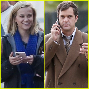 Reese Witherspoon & Joshua Jackson Spend The Day Filming 'Little Fires Everywhere'