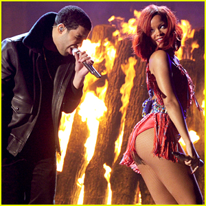 Rihanna & Drake Reunited at His Birthday Party - Here's What Happened