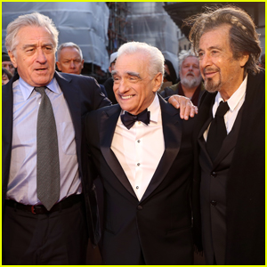 Robert De Niro, Martin Scorsese, & Al Pacino Premiere 'The Irishman' at BFI London Film Festival 2019!