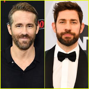 Ryan Reynolds & John Krasinski Teaming Up for New Comedy 'Imaginary Friends'