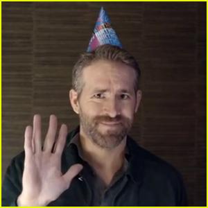 Ryan Reynolds Sends Profanity-Filled Birthday Message to Hugh Jackman - Watch!