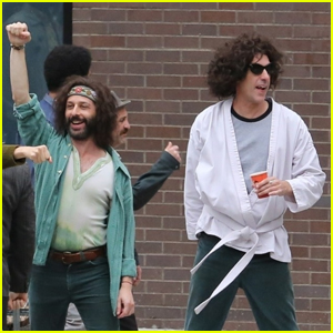 Sacha Baron Cohen Films Protest Scene for New Movie 'Trial of the Chicago 7'