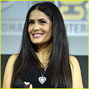 Salma Hayek Posts Sexy Photo to Celebrate 12 Million Instagram Followers!