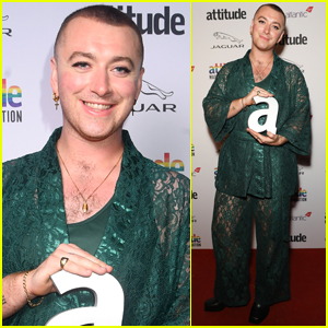 Sam Smith Gives Emotional Speech on Second 'Coming Out' at Attitude Awards 2019
