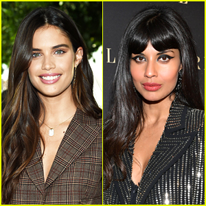 Sara Sampaio Calls Out Jameela Jamil for Perpetuating a Stereotype About Models