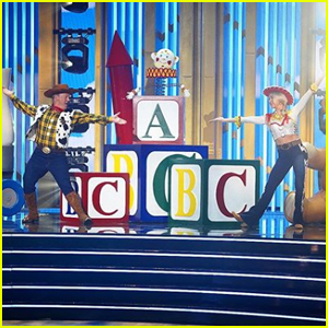 Sean Spicer Dances to 'Toy Story' for Disney Night on 'DWTS' - Watch!