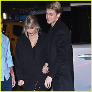Taylor Swift & Boyfriend Joe Alwyn Make Rare Appearance at 'SNL' After Party