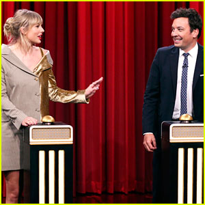 Taylor Swift Plays 'Name That Song' Challenge on 'Fallon,' Can't Guess Her Own! (Video)
