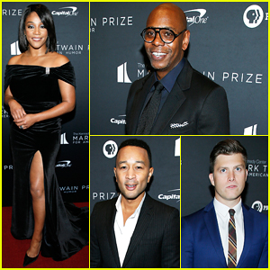Tiffany Haddish, John Legend & More Help Honor Dave Chappelle at Mark Twain Prize Ceremony!