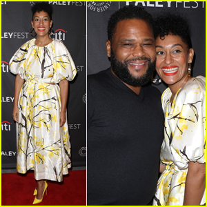 Tracee Ellis Ross & Anthony Anderson Step Out for 'black-ish' Panel at PaleyFest