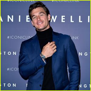 Tyler Cameron Wraps Up His Trip to Paris With Daniel Wellington