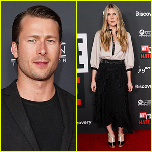Glen Powell & Lily Rabe Attend 'Why We Hate' LA Premiere