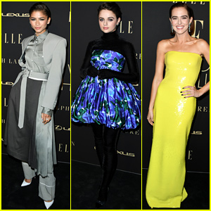 Zendaya, Joey King, & Zoey Deutch Look So Chic at Elle's Women in Hollywood Party!