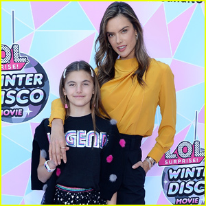 Alessandra Ambrosio's Daughter Anja Looks All Grown Up at 'L.O.L. Surprise!' Movie Screening