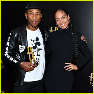 Alicia Keys Honors Pharrell Williams' 'Letter to My Godfather' at Hollywood Film Awards 2019