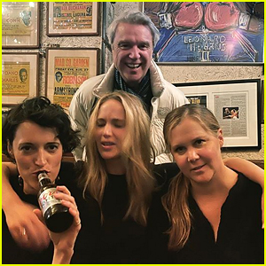Jennifer Lawrence, Amy Schumer & Phoebe Waller-Bridge Hang Out Together at David Byrne's Show