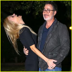 Anna Faris Laughs With Boyfriend Michael Barrett Amid Engagement Rumors