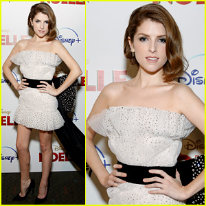 Anna Kendrick Rocks Dress With Giant Bow at 'Noelle' Premiere