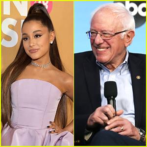 Ariana Grande Calls Bernie Sanders 'My Guy' In Supportive Tweet