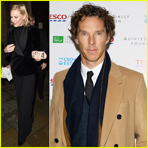 Benedict Cumberbatch & Cate Blanchett Support Fayre of St James's Christmas Carol Concert!