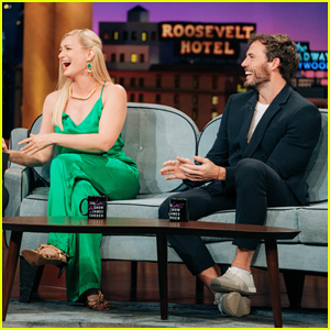 Beth Behrs & Sam Claflin Play Hilarious UK or US Guessing Game with James Corden!