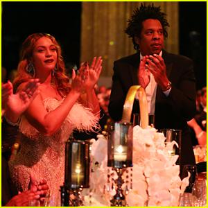 Beyonce Supports Jay-Z at Inaugural Shawn Carter Foundation Gala