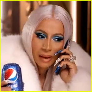 Cardi B Stars in Pepsi Christmas Commercial - Watch!