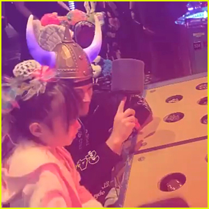 Channing Tatum & His Daughter Had a Fun Date Night in Vegas!