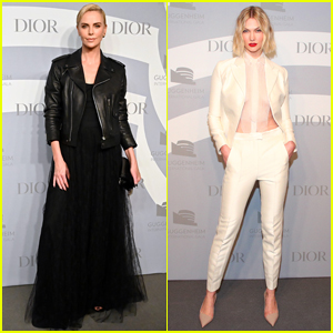 Charlize Theron & Karlie Kloss are Dior Darlings at Guggenheim International Gala 2019