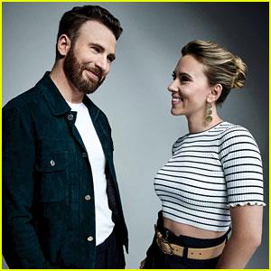 Chris Evans Talks to Scarlett Johansson About Returning to Marvel Universe & Captain America's Ending