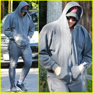 Chris Pratt Goes Incognito While Visiting Mother-in-Law Maria Shriver in LA