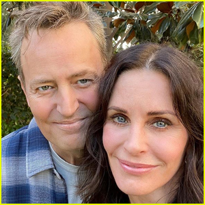 Courteney Cox & Matthew Perry Have Mini 'Friends' Reunion at Lunch!