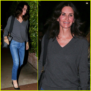 Courteney Cox Steps Out After Scary Incident With Her Dogs: 'Everyone's Okay'