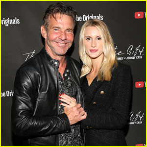 Dennis Quaid's Fiancee Laura Savoie Shows Off Engagement Ring on Red Carpet!