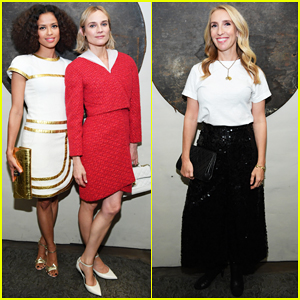 Diane Kruger & Gugu Mbatha-Raw Team Up As Jury at Through Her Lens: The Tribeca Chanel Women's Filmmaker Program!