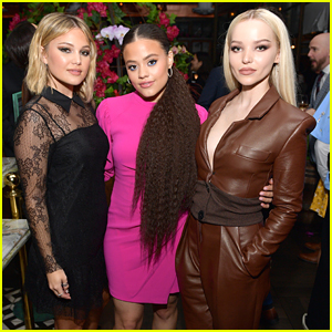 Dove Cameron, Sarah Jeffery, Olivia Holt & More Step Out To Celebrate The Golden Globes