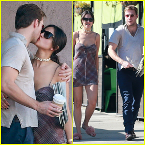 Eiza Gonzalez & Luke Bracey Pack on the PDA, Confirming Their Relationship!