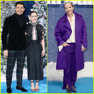Emilia Clarke, Henry Golding & Emma Thompson Celebrate UK Premiere of 'Last Christmas'!