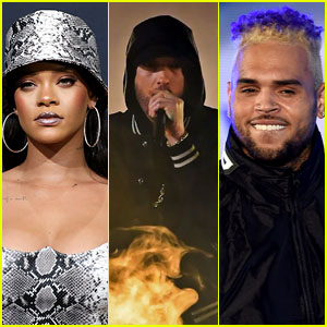 Eminem Sides With Chris Brown Regarding Rihanna Assault in Alleged Leaked Song