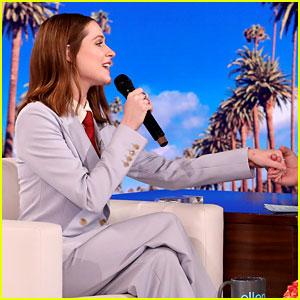 Evan Rachel Wood Sings 'Part of Your World' Snippet on 'Ellen'