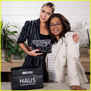 Lady Gaga Does Oprah Winfrey's Makeup Using Her Haus Laboratories for Oprah's Favorite Things 2019 - Watch!