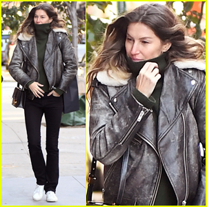 Gisele Bundchen Bundles Up for Rare Day Out in NYC