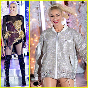 Gwen Stefani Pre-Tapes Her 'Christmas in Rockefeller Center' Performance Three Weeks Early