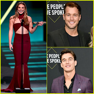 Hannah Brown Beats Two of Her Exes to Win a People's Choice Award!