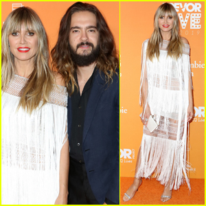 Heidi Klum & Husband Tom Kaulitz Couple Up for TrevorLive Gala 2019!