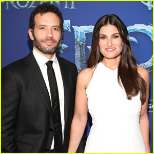 Idina Menzel & Husband Aaron Lohr Make Rare Red Carpet Appearance at 'Frozen 2' Premiere!