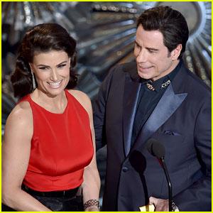 Idina Menzel Jokes That John Travolta Owes Her a Favor, Six Years After Adele Dazeem Moment