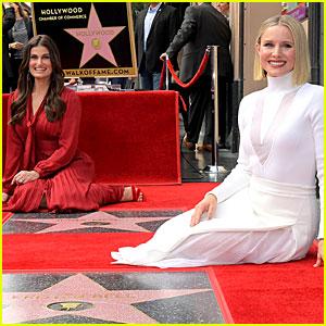 Frozen's Kristen Bell & Idina Menzel Get Stars on the Hollywood Walk of Fame Together!