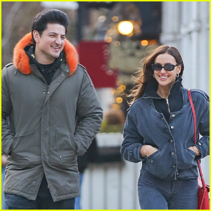 Irina Shayk Hangs Out with Mystery Man in New York City